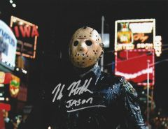 Kane Hodder autograph 8x10, Firday the 13th, Jason Vorhees