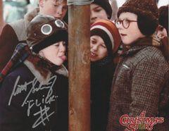 Scott Schwartz autograph 8x10, Christmas Story, Flick