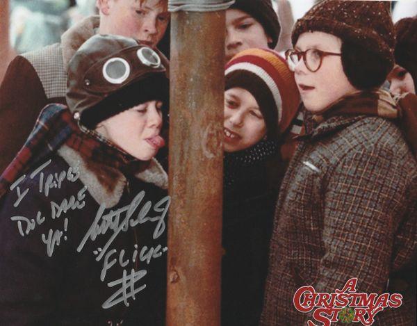 Scott Schwartz autograph 8x10, Christmas Story, with 2 inscriptions!!