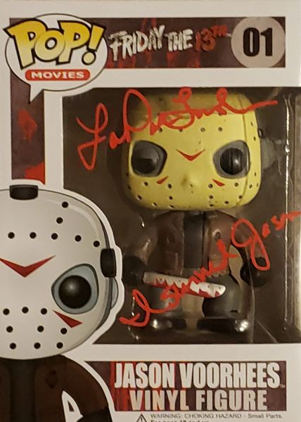 Lar Park Lincoln autograph Funko pop, Friday the 13th