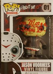 Tom Morga autograph Funko pop, Friday the 13th, Jason Voorhees