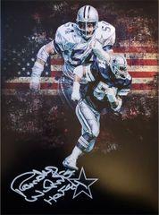 Randy White autograph 11x14, Dallas Cowboys, HOF inscription
