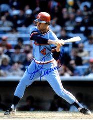 Jim Eisenreich autograph 8x10, Minnesota Twins