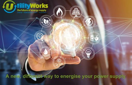 Utility Works offer renewable energy and platforms to businesses