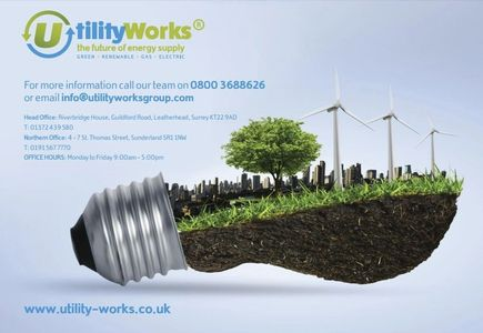 Utility Works are experts at sourcing cheaper electricity and gas.
