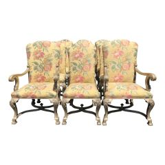 Set of 12 - Dennis & Leen Hampton Court Designer Dining Chairs
