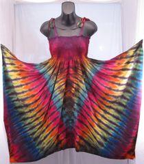 Dark Rainbow V Festival Dress/Skirt