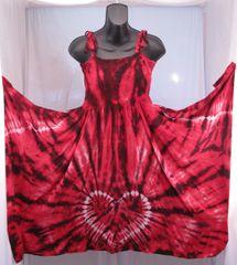 Red and Black Heart Festival Dress/Skirt