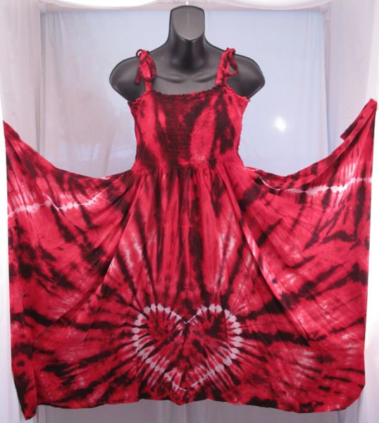 Red and Black Heart Festival Dress/Skirt