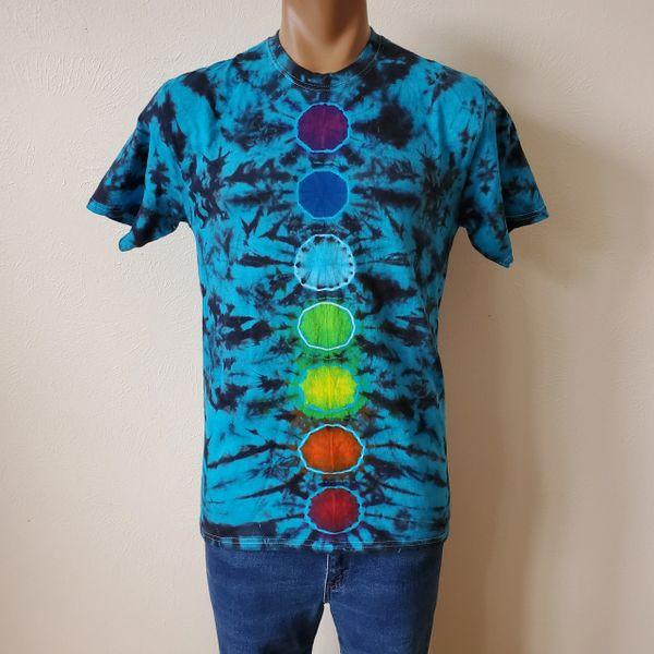 Blue Chakra Adult T-Shirt