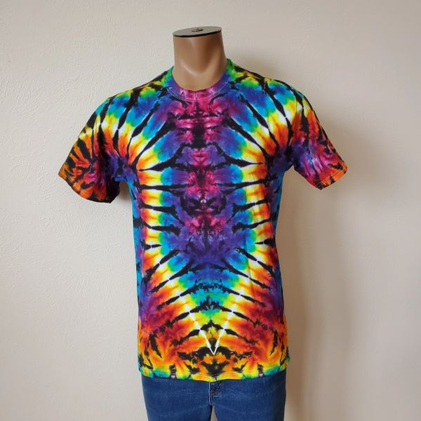 Scorched Rainbow Curve Adult T-Shirt