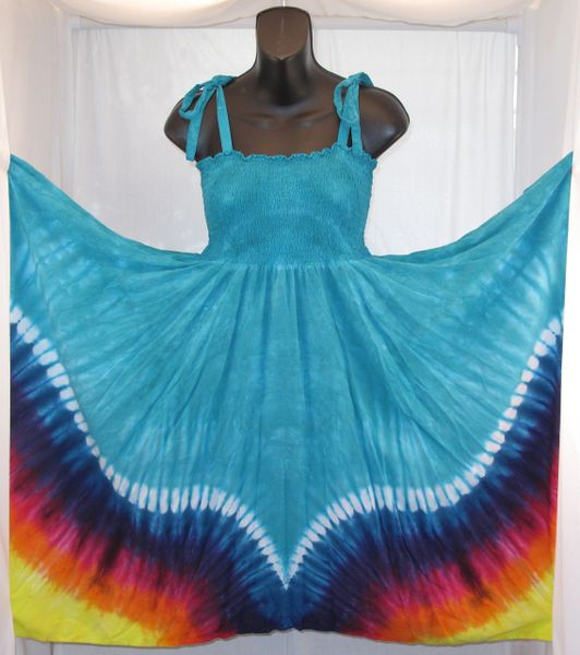 Blue Wings Festival Dress/Skirt