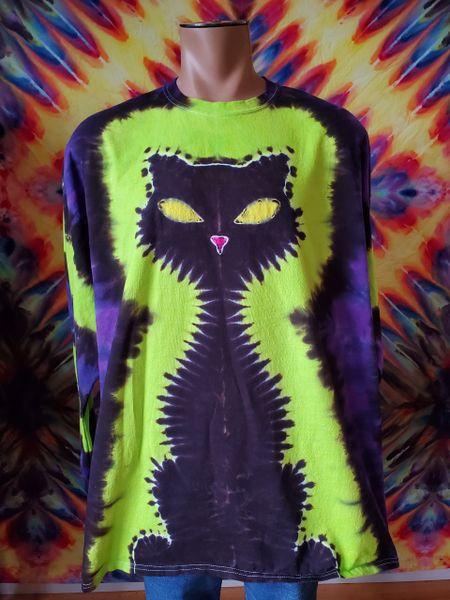 Black Cat Adult T-Shirt
