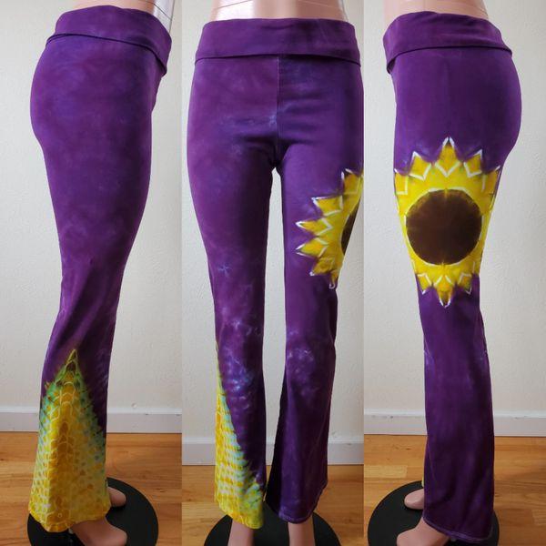 Sunflower Yoga Pants