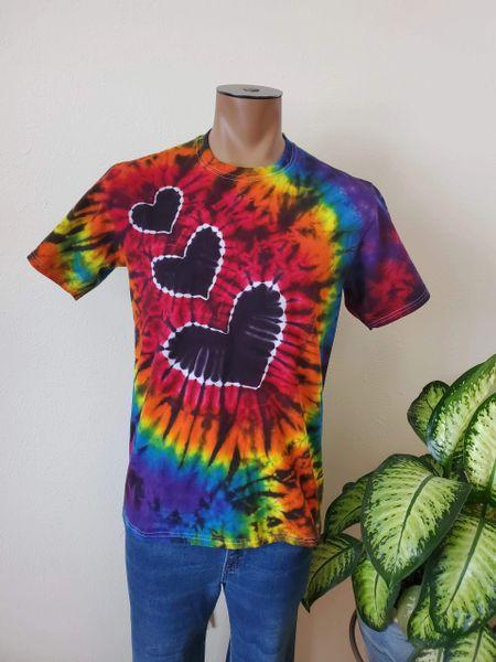 Triple Heart Adult T-Shirt
