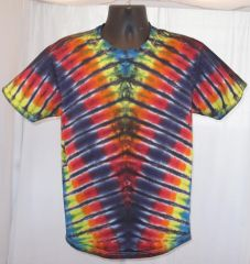 Rainbow V Adult T-Shirt