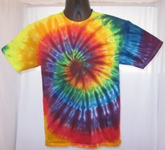 Rainbow Spiral Kids T-Shirt