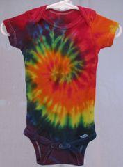 Rainbow Spiral Onesie