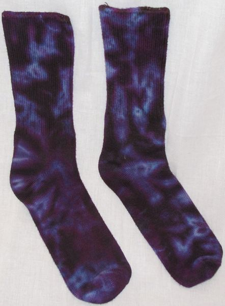 Purple Marble Bamboo Socks