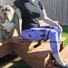Arrow Leggings, Purple, CAPRI Version