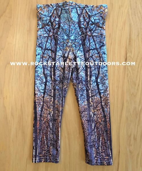 Youth Leggings, Birch Tree Fall Camo, (2T-14)