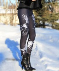 Rockstarlette Moose Archery Logo Leggings