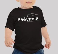 Youth PROVIDER™ T Shirt, Baby and Toddler Sizes, Fishing or Hunting Logo, Black or Pink, NEW!