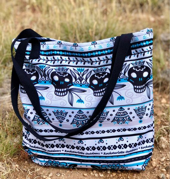 Tote Bag: Tattoo Pattern, Weather Resistant