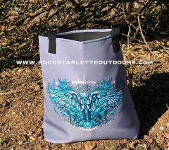 SALE 30% OFF, Tote Bag: Handgun 2A Logo, Made in the USA