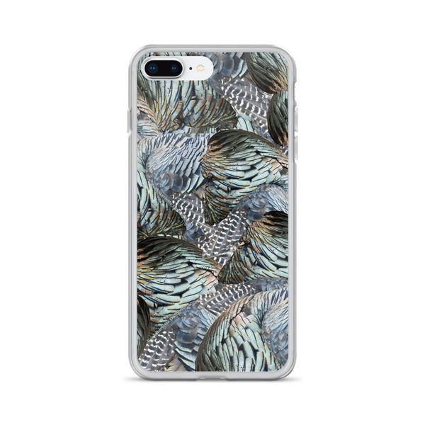 Turkey Feather Pattern, Cell Phone Case, iPhone (Choose Model) FREE Shipping