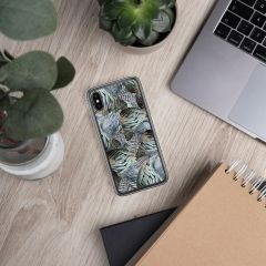 Turkey Feather Pattern, Cell Phone Case, iPhone (Choose Model)