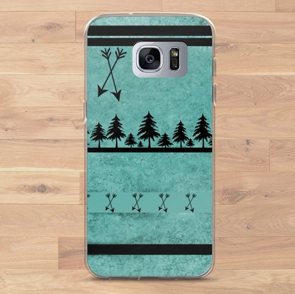 Teal Arrows, Cell Phone Cover, Samsung Galaxy Phone Cases (Choose Model) FREE Shipping