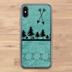 Teal Arrows, Cell Phone Cover, iPhone Cases (Choose Model)