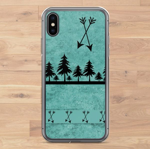 Teal Arrows, Cell Phone Cover, iPhone Cases (Choose Model) FREE Shipping