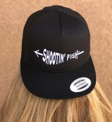 Shootin' Fish, Bowfishing Logo Meshback Hat NEW!