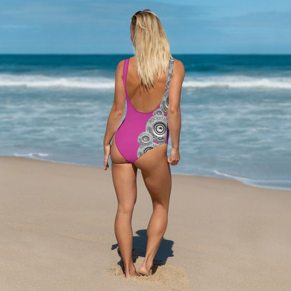 7ce17d5898b Swimsuit, One Piece, Shotgun Pattern, Made in the USA | Rockstarlette  Outdoors, Adventure Inspired Sportswear Made in USA