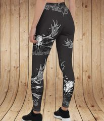 Archery Moose Logo Leggings, Rockstarlette Outdoors Logo