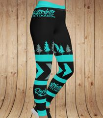 Teal Tree RO Logo Leggings