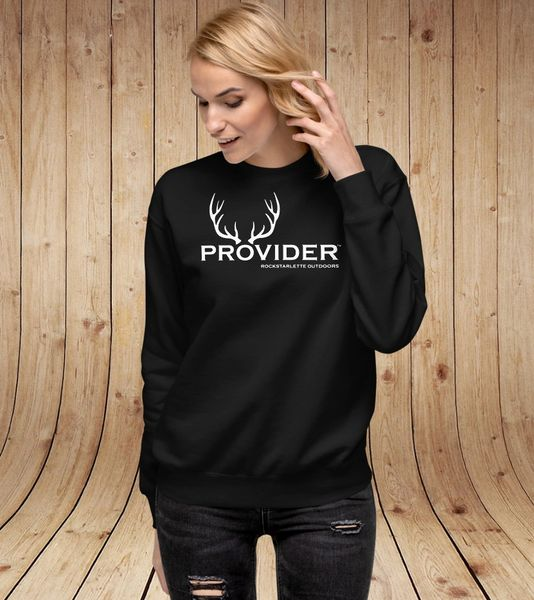PROVIDER Hunting Logo Sweatshirt, NEW!