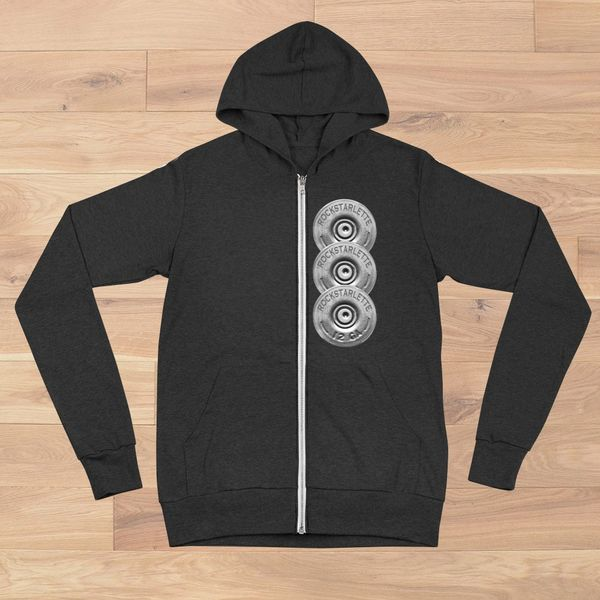 Shotgun Logo Lightweight Zip Up Hoodie, NEW!
