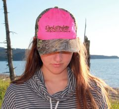 SALE 60% OFF, Hot Pink and Max 1 Camo Rockstarlette Bowhunting Logo Hat