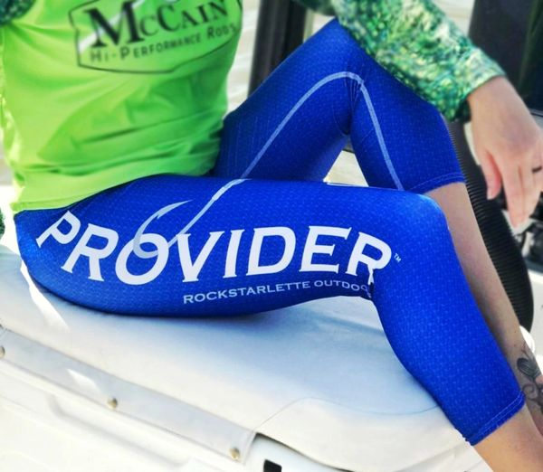 PROVIDER™ Fishing Logo CAPRI Leggings