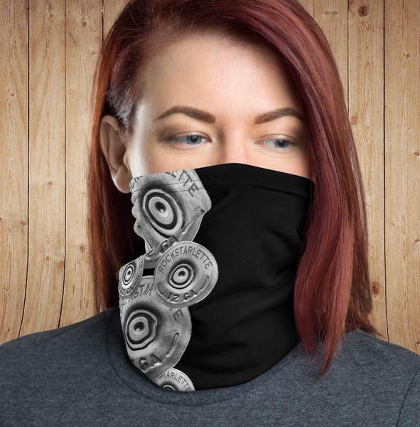 Gaiter/ Face Shield/ Headband, Shotgun Pattern