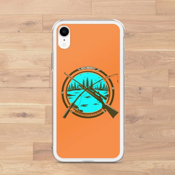 iPhone Case, Hunting and Fishing Logo (Choose Model) FREE Shipping