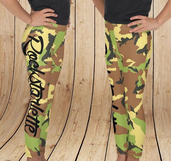 Youth Leggings, Camo, (2T-14)
