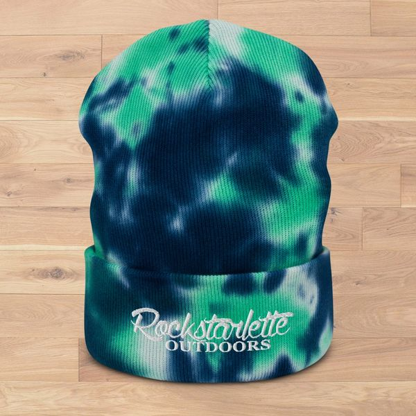 NEW! Rockstarlette Outdoors Tie Dye Beanies, 3 Different Color Options