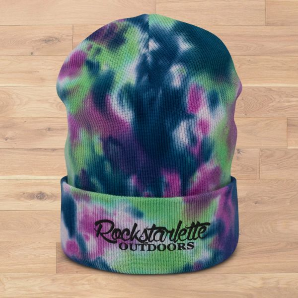 Rockstarlette Outdoors Tie Dye Beanies, 3 Different Color Options, NEW