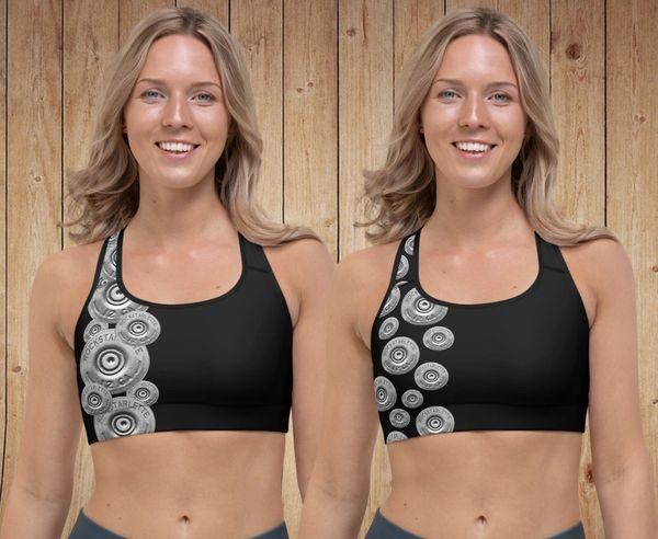 Sports Bra/ Athletic Top, 2 Shotgun Pattern Options, NEW!