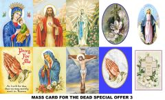 Special Offer Mass Cards 3 (for the deceased)