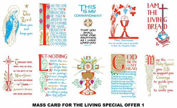 Special Offer Mass Cards 1 (for the Living)